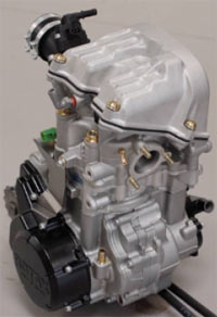 DS450 Rotax Engine