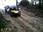 Can-Am Commander 1000 XT using winch