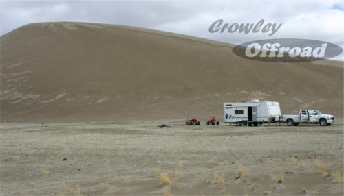 Crescent Dunes campground