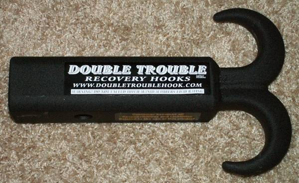 Double Trouble Tow Hook