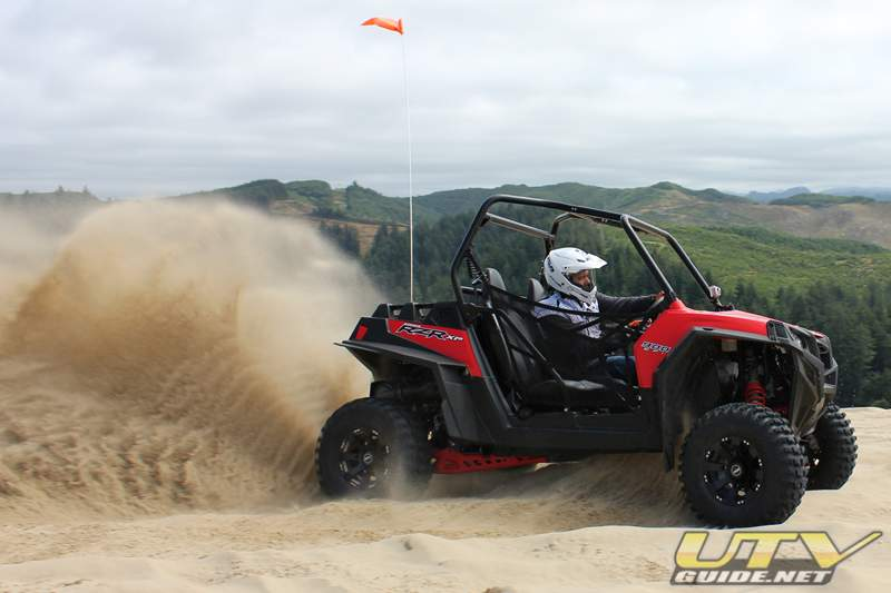 Polaris RZR XP at Winchester Bay