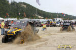DuneFest 2011 - Tug of War - Can-Am Commander 1000x vs. Polaris RZR S