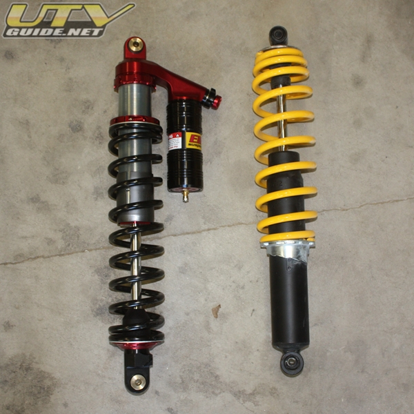 Can-Am Commander Shock Upgrade from Elka Suspension
