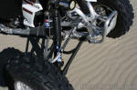 KFX450R suspension - Fox Shox, Laeger's Racing, Durablue