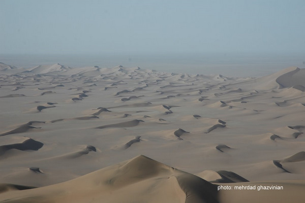 Sand Dunes in the Lut Desert, Iran
