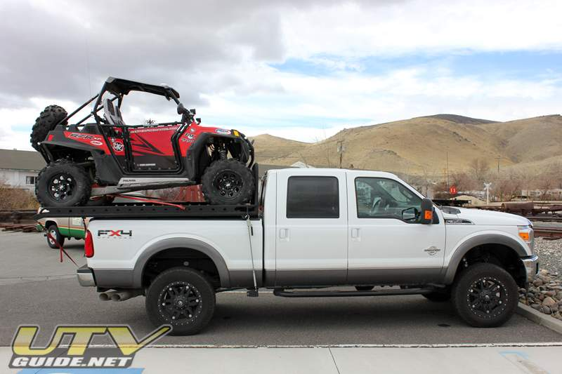 Ford F350 with UTV Rack