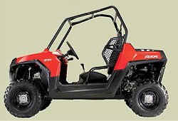 Polaris Rnager RZR - Lower Seat helps center of gravity