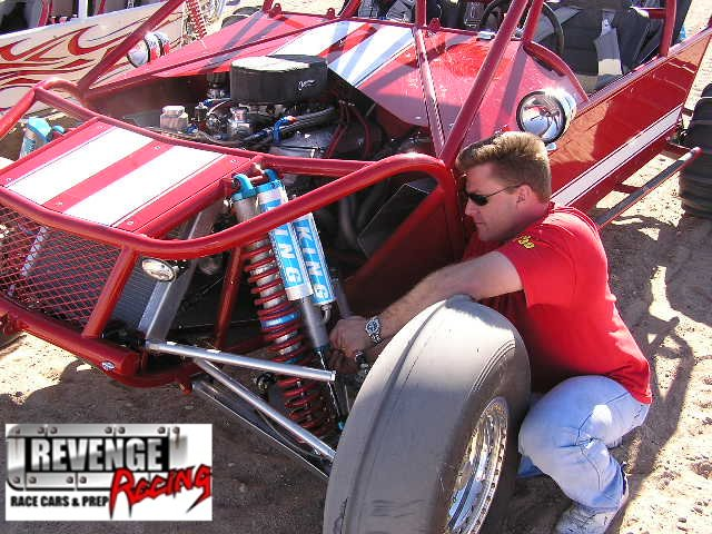Justin from Revenge Racing - Shock Tune