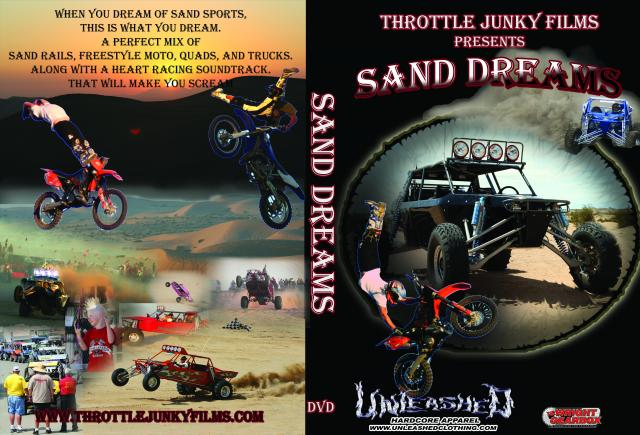 Sand Dreams DVD by Throttle Junky Films