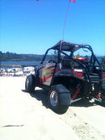 Polaris RZR S with Muzzys 850cc Big Bore