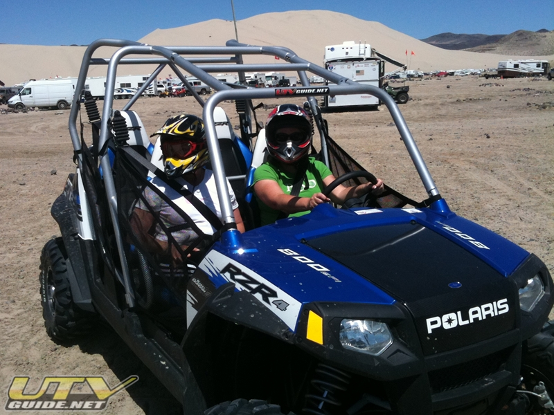 Polaris RZR 4 at Sand Mountain