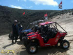 Polaris RZR and RZR 4 at Sand Mountain