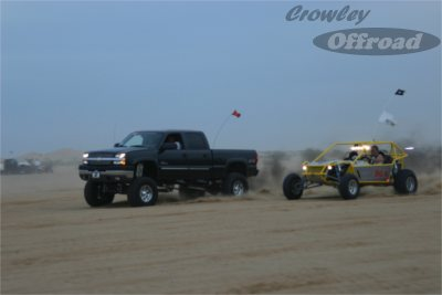 Superbowl Weekend Sand Drags