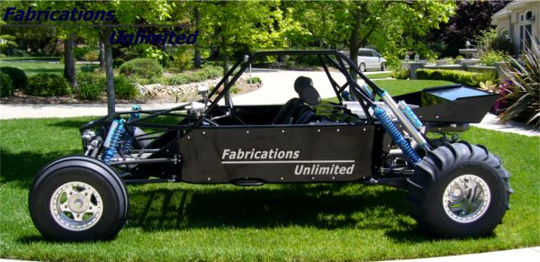 Two Seat Mid-Engine Sand Car - Fabrications Unlimited