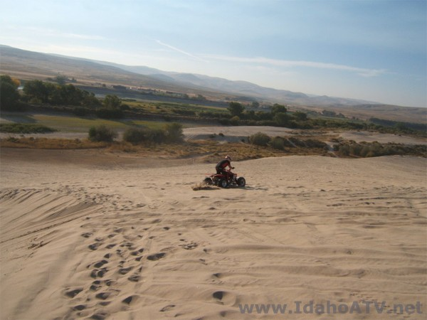Weiser Sand Dunes - Idaho (Photo courtesy of www.IdahoATV.net)