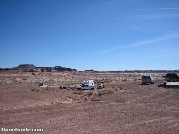 White Wash Sand Dunes - Primitive Camping Area