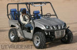 Four Seat Yamaha Rhino at Vendor Row in Glamis
