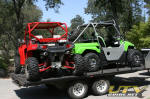 Getting ready for the Oregon Dunes - RZR & Teryx